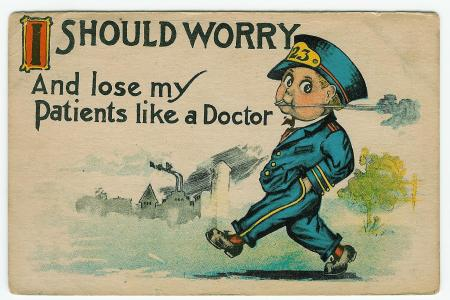 "Barton & Spooner:  ""I SHOULD WORRY...Doctor"" obverse"