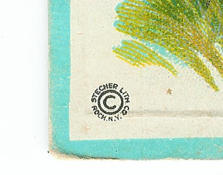 Stecher Lithographic Company (623 D) - Detail of logo