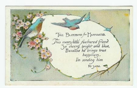 The Bluebirds for Happiness - Obverse